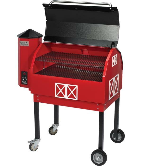 Outdoor-grill-wood-pellet